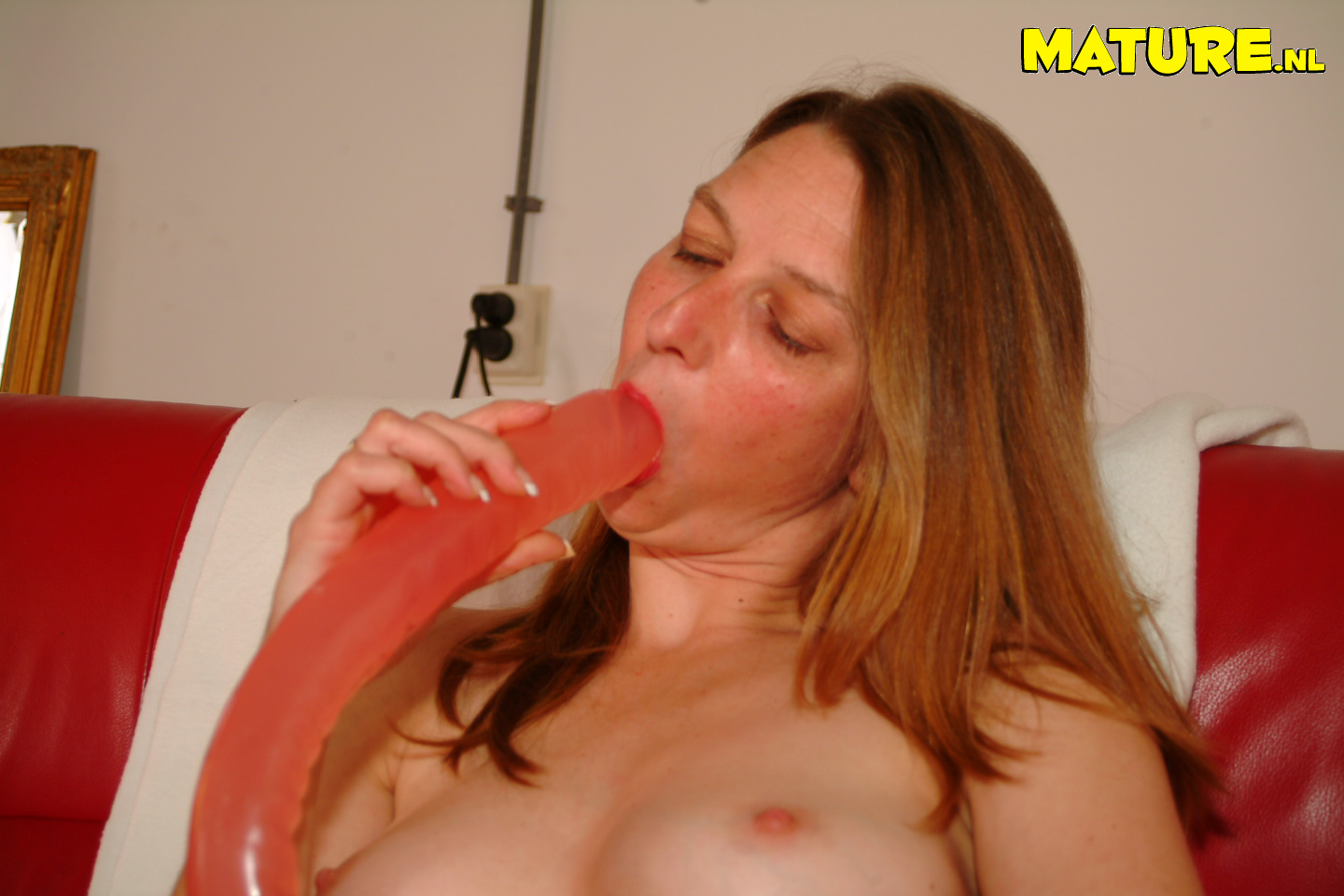 Mature super-bitch toying with fucktoys all day lengthy